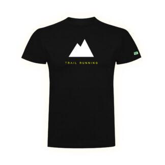camiseta trail running casual negro